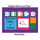Microsoft Office hints and tips